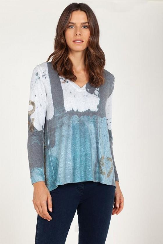 Anna Mora camiseta 66008