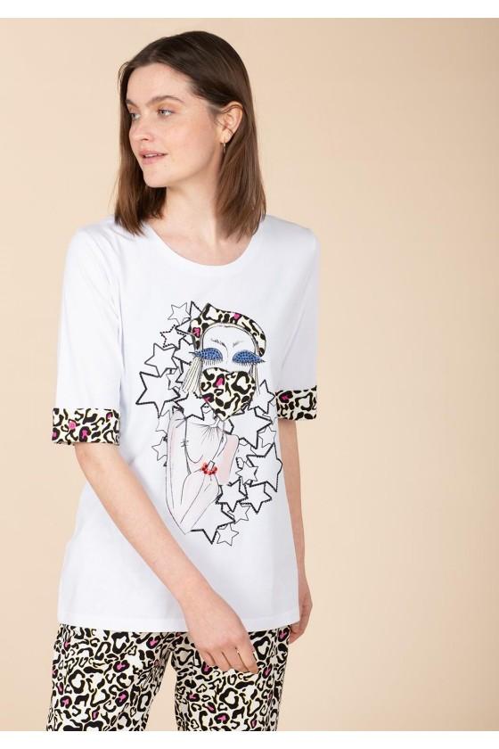 Anna Mora camiseta 67026