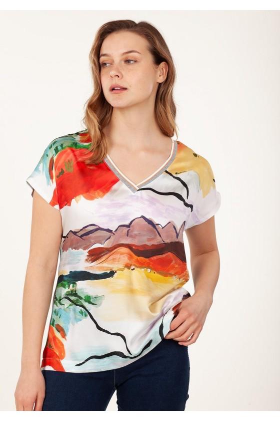 Anna Mora camiseta 67060